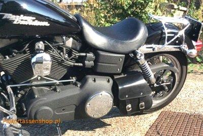Harley Davidson Dyna Streetbob, motortas, zwart, 3 L, F4050