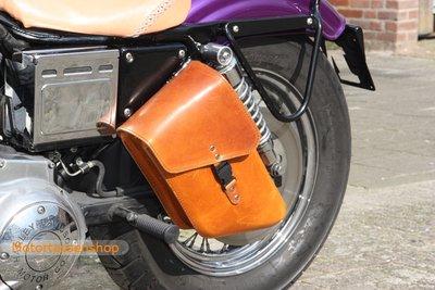 Harley Davidson Sportster frametas, cognac, 6 L, F4080