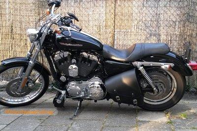 Harley Davidson Sportster met frametas, zwart, 1x10L, F4070
