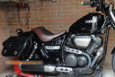 Yamaha Bolt motortas, zwart, 2x13,5 L, C4080s