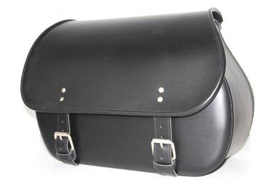 Motortas Bigbag, zwart leder, 1x40 L, P7900