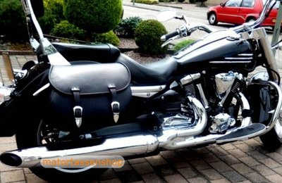 Yamaha Star met Classic 27 motortas, zwart, 2 x27L, G5501