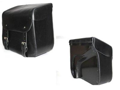 Chopper Hardback, zwart nerfleder, 1x30L, P6100
