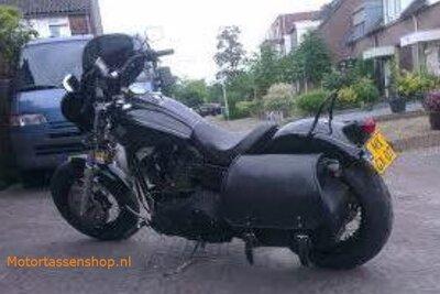 Harley Davidson Dyna Bigbag, zwart nerfleder, 40L, P7900