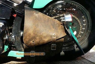 Harley Davidson Softail met frametas, antiek,10L, F4060