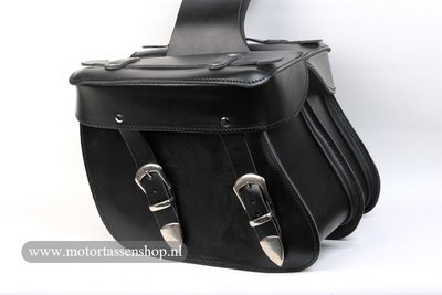 Motortas-set, zwart, 2x11L, A5050s