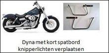 Afstandhouder Harley Davidson Dyna vanaf 1991