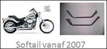 Afstandhouder Harley Davidson softail vanaf 2007