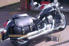 Suzuki Volusia, Classic motortas, zwart, 2x27L, G5501