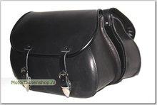 Motortas-set-Classic-zwart-nerfleer-2x27L-G5501